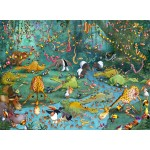 Puzzle  Grafika-Kids-00801 François Ruyer: Jungle