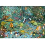 Puzzle  Grafika-Kids-00805 Magnetische Teile - François Ruyer: Jungle