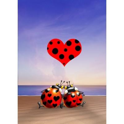 Puzzle  Grafika-Kids-00835 Magnetische Teile - François Ruyer: Love