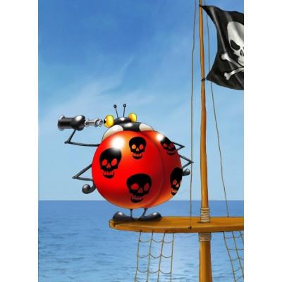Puzzle  Grafika-Kids-00837 François Ruyer: Piraten