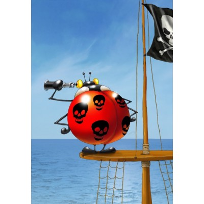 Puzzle  Grafika-Kids-00839 François Ruyer: Piraten