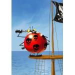 Puzzle  Grafika-Kids-00842 XXL Teile - François Ruyer: Piraten