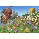 Puzzle  Grafika-Kids-00848 XXL Teile - François Ruyer: Piraten