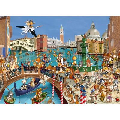 Puzzle  Grafika-Kids-00854 François Ruyer: Venedig