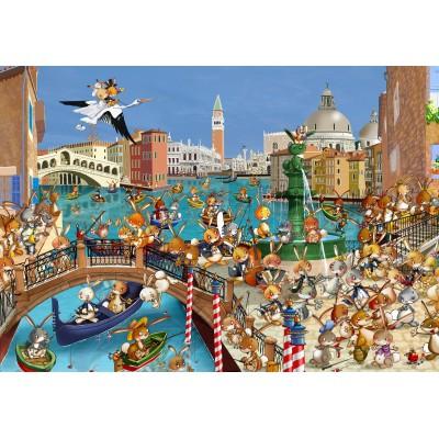 Puzzle  Grafika-Kids-00856 François Ruyer: Venedig