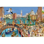 Puzzle  Grafika-Kids-00859 XXL Teile - François Ruyer: Venedig