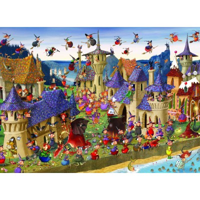Puzzle  Grafika-Kids-00879 François Ruyer: Hexen
