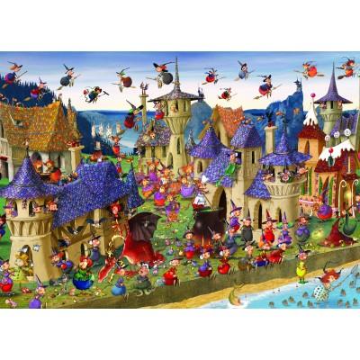 Puzzle  Grafika-Kids-00882 Magnetische Teile - François Ruyer: Hexen