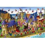Puzzle  Grafika-Kids-00883 XXL Teile - François Ruyer: Hexen