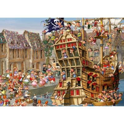 Puzzle  Grafika-Kids-00901 François Ruyer: Piraten