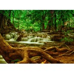 Puzzle  Grafika-Kids-00925 Wasserfall im Wald