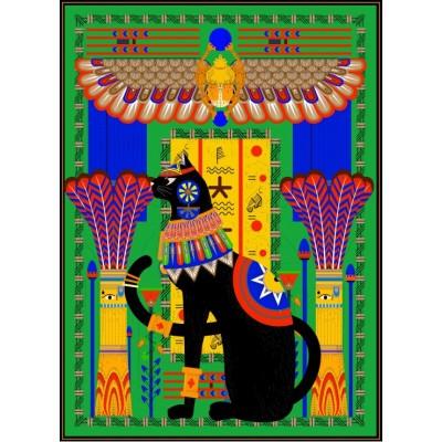 Puzzle  Grafika-Kids-00967 Ägyptische Katze