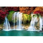 Puzzle  Grafika-Kids-00988 XXL Teile - Wasserfall im Wald