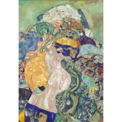 Puzzle  Grafika-Kids-00991 Gustav Klimt: Baby, 1917/1918