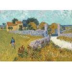 Puzzle  Grafika-Kids-00993 Magnetische Teile - Vincent Van Gogh - Farmhouse in Provence, 1888