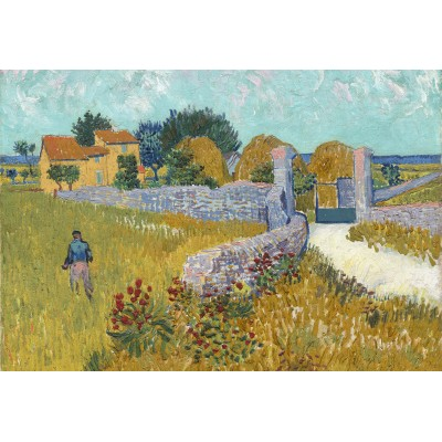 Puzzle  Grafika-Kids-00995 XXL Teile - Vincent Van Gogh - Farmhouse in Provence, 1888