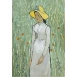 Puzzle  Grafika-Kids-00996 Vincent Van Gogh - Girl in White, 1890