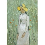Puzzle  Grafika-Kids-00999 XXL Teile - Vincent Van Gogh - Girl in White, 1890