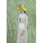 Puzzle  Grafika-Kids-00999 XXL Teile - Vincent Van Gogh - Girl in White, 1890