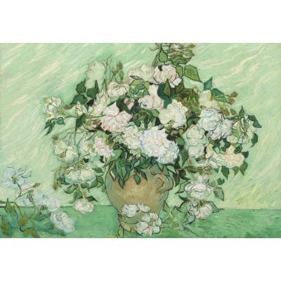 Puzzle  Grafika-Kids-01008 Vincent Van Gogh - Roses, 1890