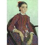 Puzzle  Grafika-Kids-01012 Vincent Van Gogh - La Mousmé, 1888