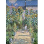 Puzzle  Grafika-Kids-01018 Magnetische Teile - Claude Monet - Garten des Künstlers in Vétheuil, 1880