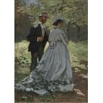 Puzzle  Grafika-Kids-01023 Claude Monet - Bazille und Camille, 1865