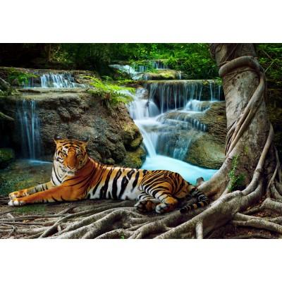 Puzzle  Grafika-Kids-01057 Tiger