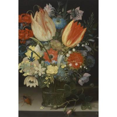 Puzzle  Grafika-Kids-01081 XXL Teile - Peter Binoit: Still Life with Tulips, 1623