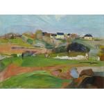 Puzzle  Grafika-Kids-01087 Magnetische Teile - Paul Gauguin: Le Pouldu, 1890