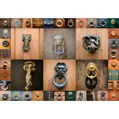 Puzzle  Grafika-Kids-01100 Collage - Türen