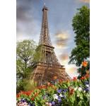 Puzzle  Grafika-Kids-01112 Eiffelturm, Frankreich