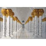 Puzzle  Grafika-Kids-01143 Die Scheich-Zayid-Moschee, Abu Dhabi