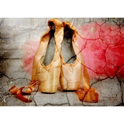 Puzzle  Grafika-Kids-01160 Vintage Dancing Shoes