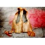 Puzzle  Grafika-Kids-01161 XXL Teile - Vintage Dancing Shoes
