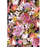 Puzzle  Grafika-Kids-01177 XXL Teile - Vintage Flowers and Birds