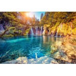 Puzzle  Grafika-Kids-01191 XXL Teile - Nationalpark Plitvicer Seen, Kroatien