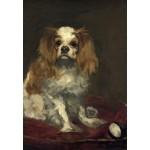 Puzzle  Grafika-Kids-01255 Edouard Manet: A King Charles Spaniel, 1866
