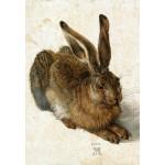 Puzzle  Grafika-Kids-01256 Albrecht Dürer - Der Hase, 1502