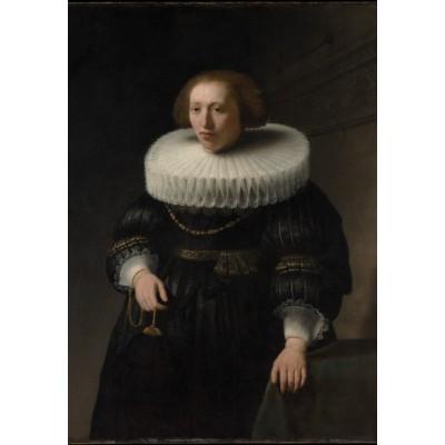 Puzzle  Grafika-Kids-01263 Rembrandt - Porträt, 1632