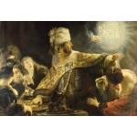 Puzzle  Grafika-Kids-01265 Rembrandt - Belsazar, 1636-1638