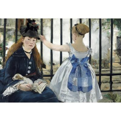Puzzle  Grafika-Kids-01267 Edouard Manet : The Railway, 1873
