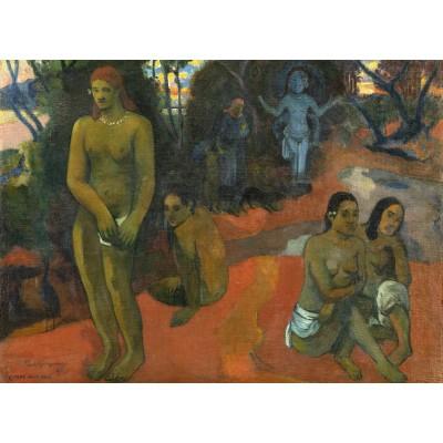 Puzzle  Grafika-Kids-01304 Paul Gauguin: Te Pape Nave Nave (Delectable Waters), 1898