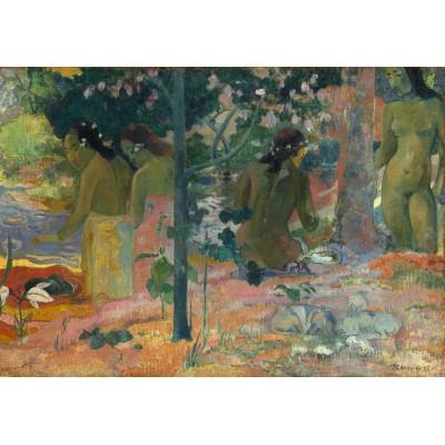 Puzzle  Grafika-Kids-01306 Paul Gauguin : The Bathers, 1897