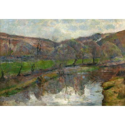 Puzzle  Grafika-Kids-01310 Paul Gauguin : Brittany Landscape, 1888