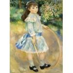 Puzzle  Grafika-Kids-01316 Auguste Renoir : Girl with a Hoop, 1885