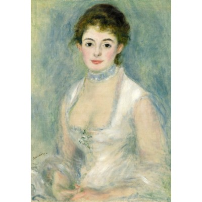 Puzzle  Grafika-Kids-01323 Auguste Renoir: Madame Henriot, 1876