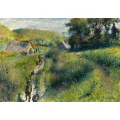 Puzzle  Grafika-Kids-01324 Auguste Renoir: The Vintagers, 1879
