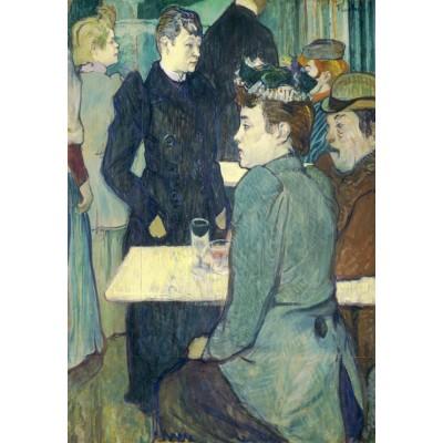Puzzle  Grafika-Kids-01360 Henri de Toulouse-Lautrec: A Corner of the Moulin de la Galette, 1892