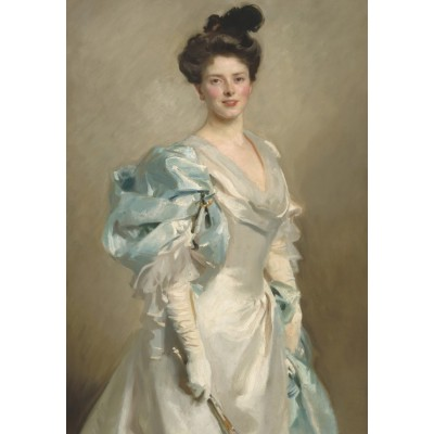 Puzzle  Grafika-Kids-01384 John Singer Sargent: Mary Crowninshield Endicott Chamberlain (Mrs. Joseph Chamberlain), 1902